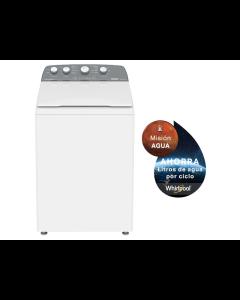Lavadora de ropa de 40 libras de capacidad, color blanco. Whirlpool 8MWTW1844MJM.