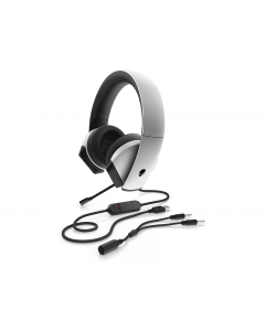 Headset Dell 8YX92 Alienware 7.1 Gaming AW510H Lunar Light