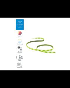 Tira de luz led multicolor inteligente con Google Assistant de 2 metros