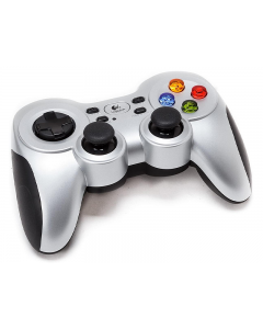 Control Logitech Gamepad Inalámbrico F710 con Dual Vibration