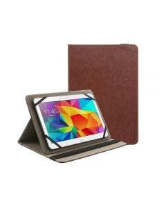 Asmyna-Case Universal Para Tablet 9-10 Pulgadas -Café-
