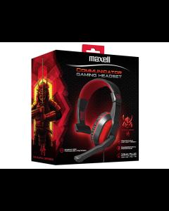 Headset Maxell Gaming CA-HS con conexión USB y Micrófono