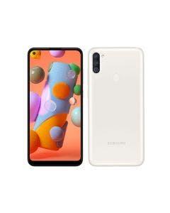 Samsung Galaxy A11, 32GB, Prepago Claro (Blanco)
