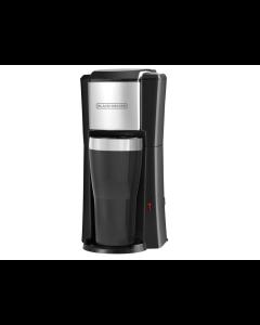 Black + Decker,CM618, Cafetera de 1 taza, Mug personal