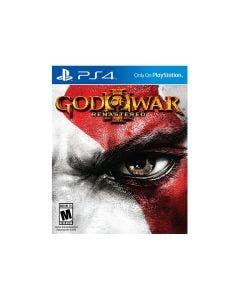 Juego PS4 God of War III Remastered