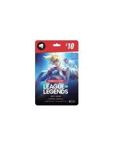 Tarjeta Digital League of Legends/Riot Access $10
