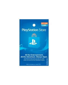 Tarjeta PlayStation Network de $100