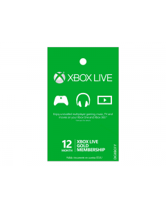 Tarjeta Xbox Live de 1 Año