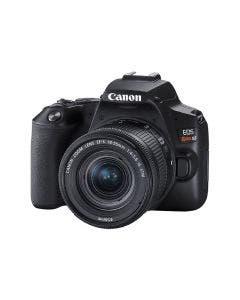 Cámara EOS Rebel SL3 de 24.1 MP, sensor APS-C. Incluye lente EF-S 18-55mm