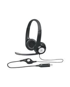 Audífonos con micrófono para conversaciones en línea