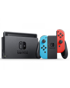 Consola Nintendo Switch + Controles Joy-Con Neon Blue y Neon Red con Batería Mejorada