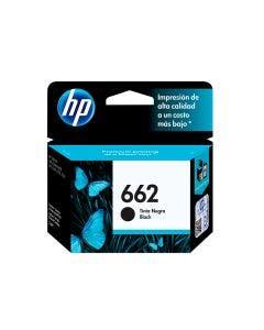Cartucho de Tinta HP 662B Negra para Ink Advantage 2515,3515,3525