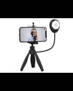 Mini Trípode Con Aro De Luz Para Selfies
