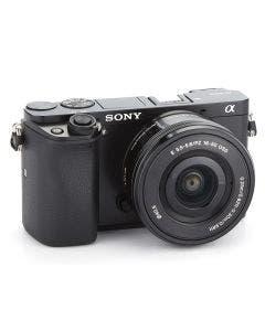Cámara de lente desmontable Sony ILCE6000LB (a6000) con sensor APS-C