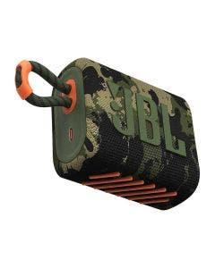 Bocina JBL GO 3 Inalámbrica Camouflage con Protección al Agua y Polvo