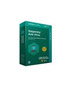 Antivirus Kaspersky por 1 año para 1 PC.