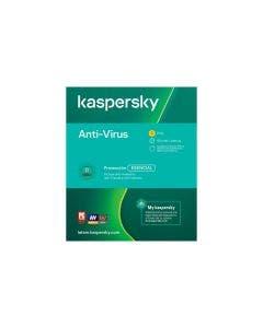 Licencia Kaspersky Antivirus por 1 año para 3 PCs