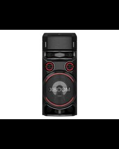 Audio todo en uno LG RN7 con iluminación LED y sonido potente.