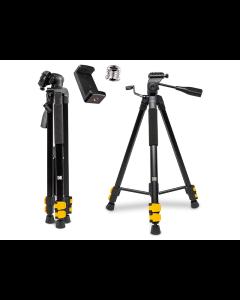 Trípode para cámara fotográfica de viaje de hasta 62 pulgadas