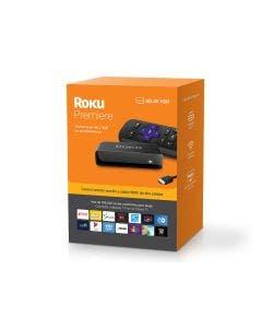 Roku Premiere | Dispositivo de streaming HD/ 4K/HDR, control remoto simple y cable HDMI premium