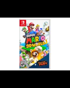 Juego Nintendo Switch Super Mario 3D World + Bowser's Fury