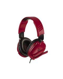 Headset Turtle Beach Recon 70 Alámbrico Midnight Red