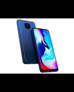 Motorola Moto E7, Prepago Tigo (Azul)
