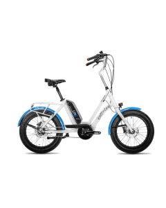 Bicicleta Electrica Corratec Life S Blanco con Azul