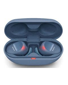 Audífonos Sony WFSP800N In-Ear Deportivos True Wireless con Noise Cancelling (Azul)