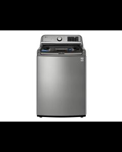Lavadora de ropa con 48 libras de capacidad, motor Inverter Direct Drive, LG WT22VT6H.