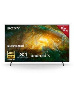 """Sony XBR65X805H 65"""" Smart (Android TV) LED TV 4K-Ultra HD con Procesador X1"""