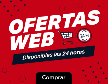 Ofertas web - Disponibles las 24 hrs.