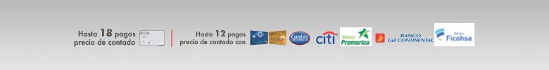 Cuotas con distintas tarjetas de crédito