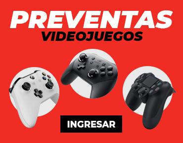 Preventas videojuegos