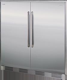 Congelador & Refrigerador de 19 Pies Cúbicos