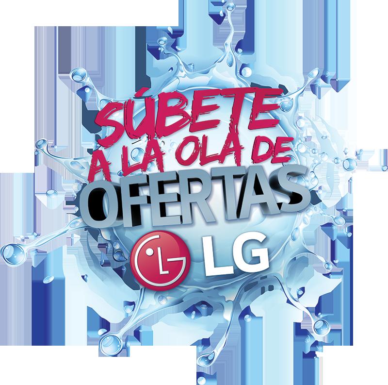 Súbete a la ola de ofertas LG
