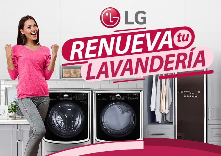 LG Renueva tu lavandería