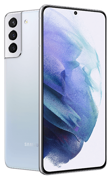 Samsung Galaxy S21+ - Vista frontal